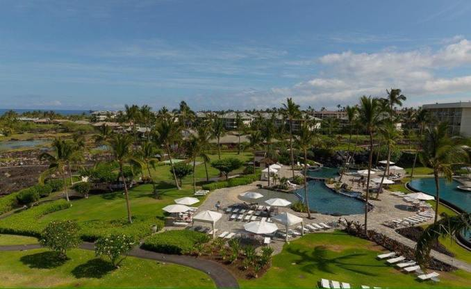 Mariott Waikoloa village and spa