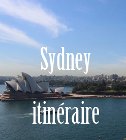 Itinéraire Sydney