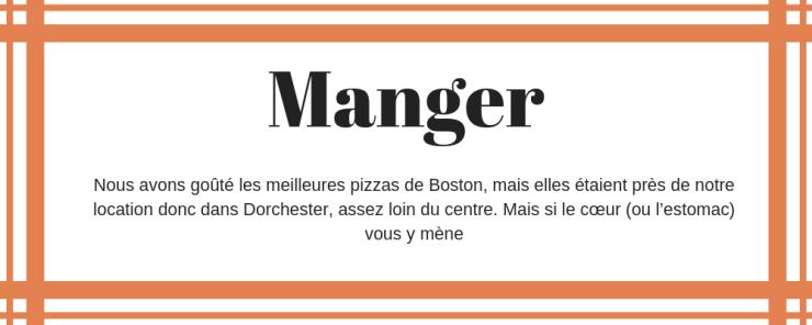 Manger Boston
