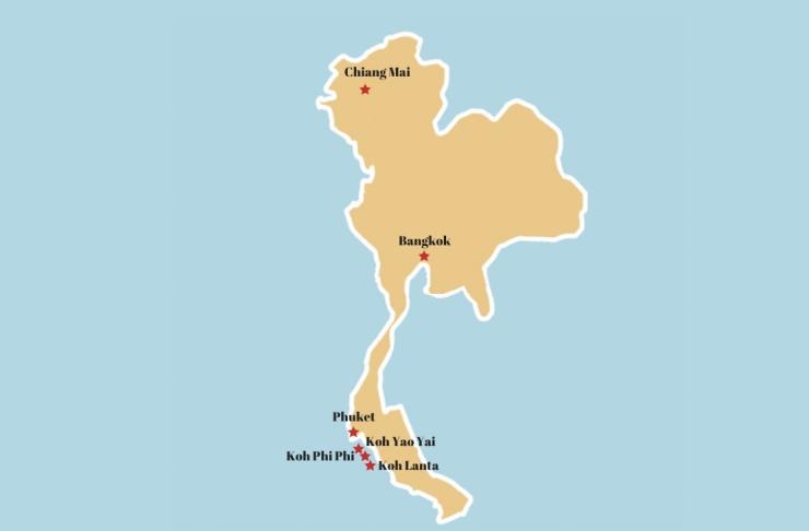 Carte Thailande-2